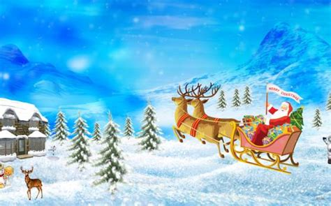 santa merry christmas hd wallpapers custom size generator