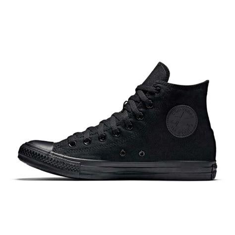 Conversehigh Total Black converse all monochrome canvas hi black all32