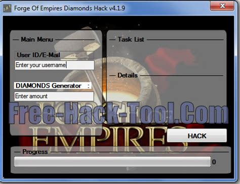 forge of empires diamonds hack v4.19 free diamonds