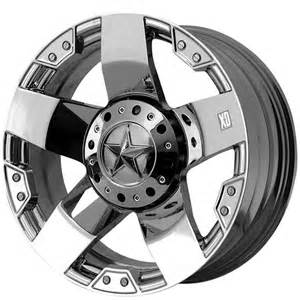 Xd Wheels On Truck Xd Offroad Wheels Rockstar Chrome Wheels Xd Offroad