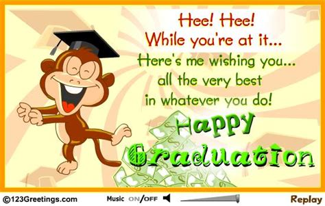 wishing the best happy graduation and best wishes glitter