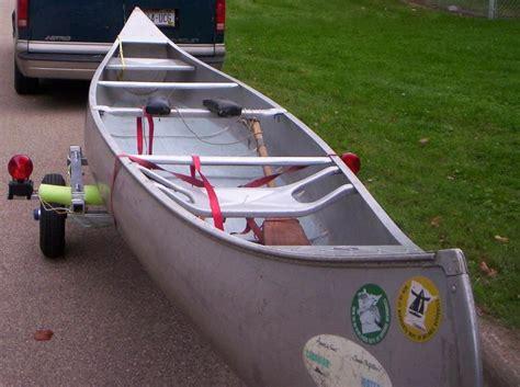used boat trailers trading post new aluminum trailer used 17 foot alum canoe trades