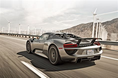 new porsche 918 porsche 918 spyder meets 959 on ignition