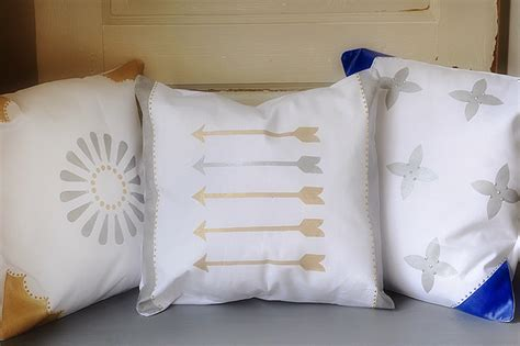 How To Make A Paper Pillow - diy glam throw pillows pretty plain janes