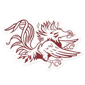 gamecock colors free coloring pages of gamecock