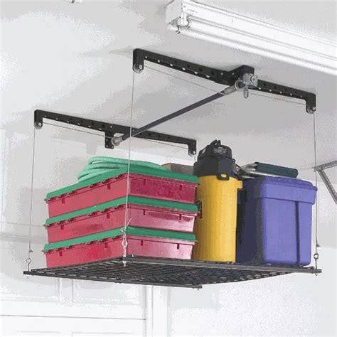Ceiling Storage Pulley System by Pin By Horrigan On House Decorating