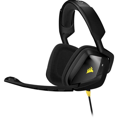 Headset Corsair corsair void stereo gaming headset black ca 9011131 na b h