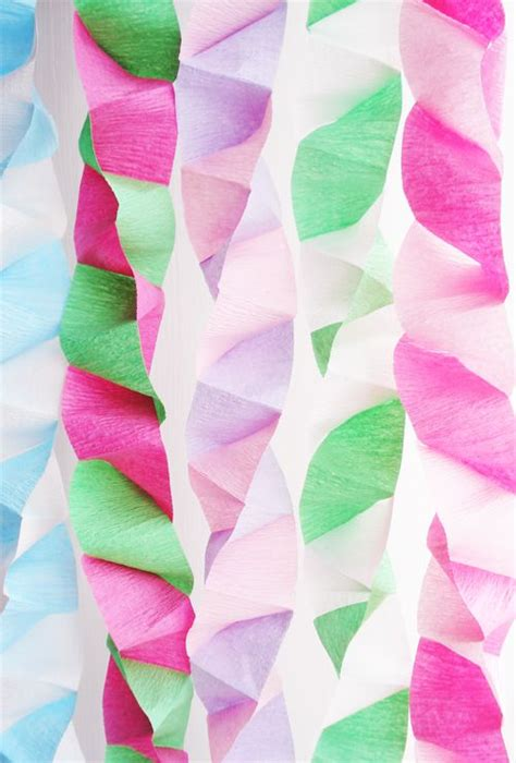 How To Make Paper Streamers - best 25 streamer decorations ideas on