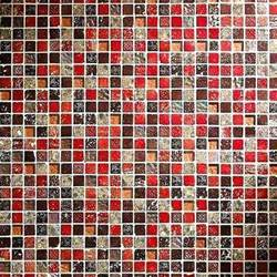 Brown And Blue Bathroom Ideas Kyoto Mosaic Wall Tiles Marshalls
