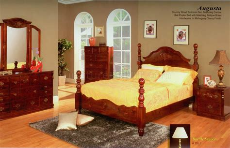 mahogany bedroom set mahogany cherry finish transitional bedroom w optional