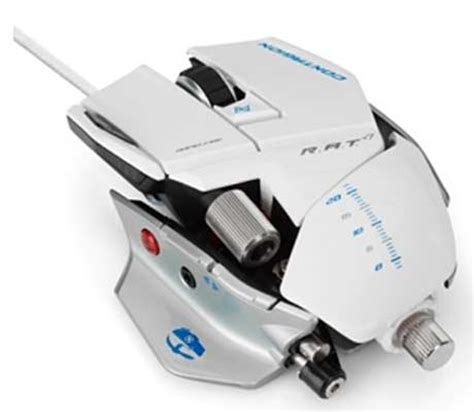 Pc Mcz R A T 5 Mouse White jual bujubuset promo gaming gear by mad catz mouse