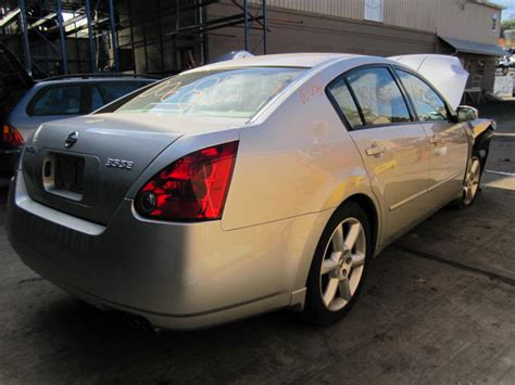 Nissan Maxima 2004 Parts by Parting Out 2004 Nissan Maxima Stock 100685 Tom S