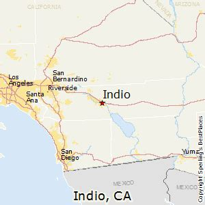 best places to live in indio california
