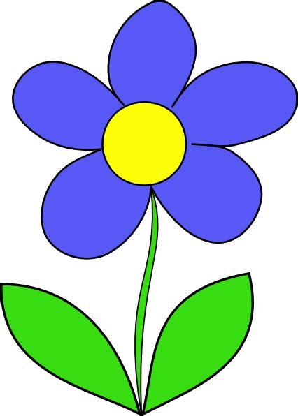 simple flower clip art  clkercom vector clip art