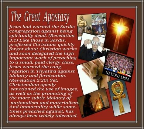 the great apostate in the cult of jehovah s witnesses books the great apostasy listen obey and be blessed