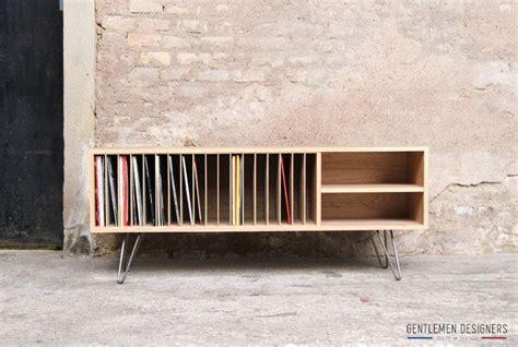 Meuble De Rangement Disques Vinyl by 17 Meilleures Id 233 Es 224 Propos De Rangement De Vinyles Sur