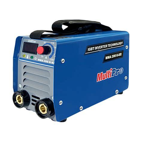 Mesin Las Mma 200a 200 A 900 Watt Redbo Kawat Las 25mm Paket Murah multipro mma200 g kr mesin las inverter 200 a promo kupon