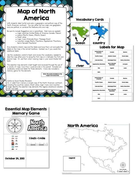 america map lesson map skills location social studies unit what i