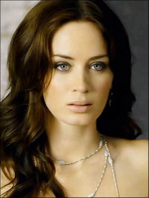actress emily blunt top beautiful woman emily blunt actress