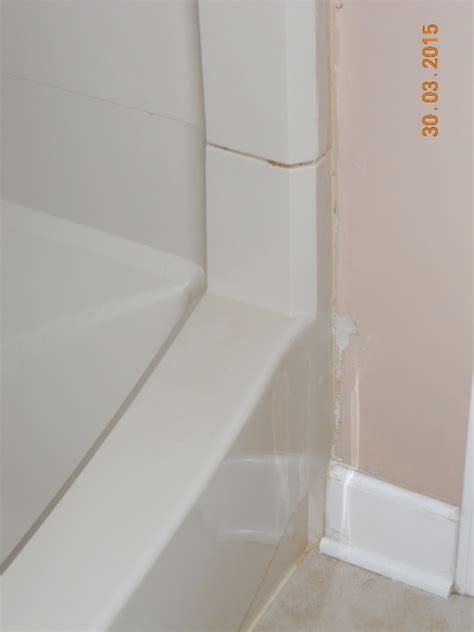 how to drywall around bathtub repair drywall in the shower home improvement stack exchange