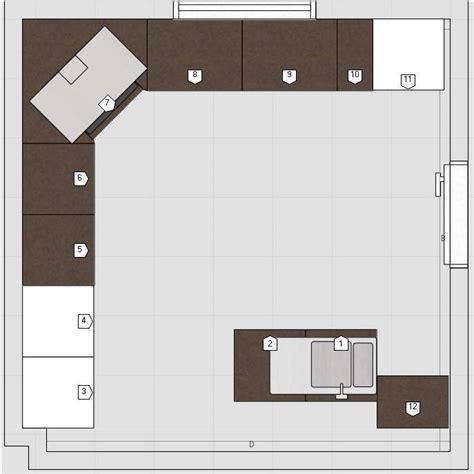 plan cuisine 10m2 cuisine 10m2 avec ilot central cuisine en image