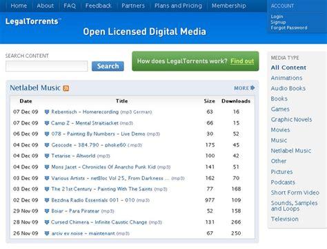 site de telechargement torrent musique gratuit