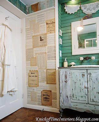 cool wall treatments really cool wall treatments in this rustic bathroom by