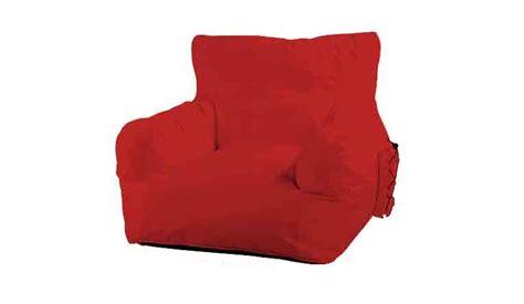grote rode stoel grote rode zitzak in de vorm van een stoel zitzakken