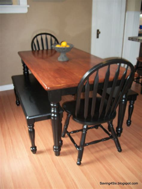Refinished Kitchen Tables Refinishing The Dining Room Table
