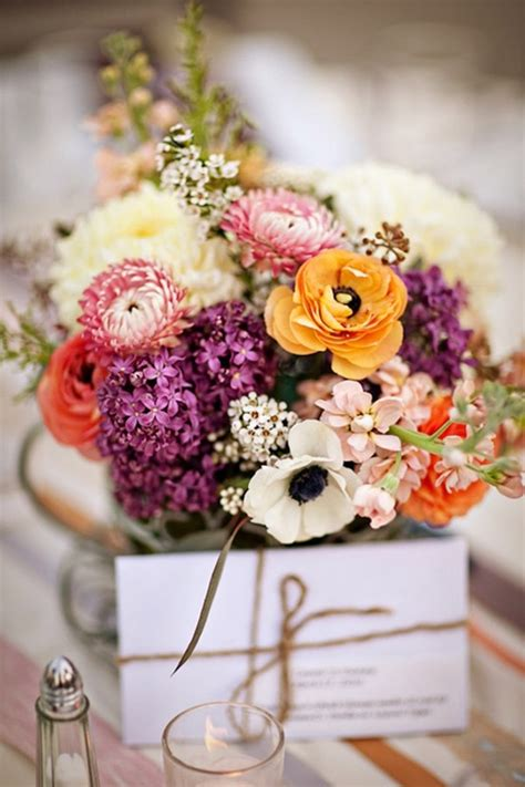 Decoration Wedding Flowers by Special Wednesday Fall Wedding Flower Ideas Bridal