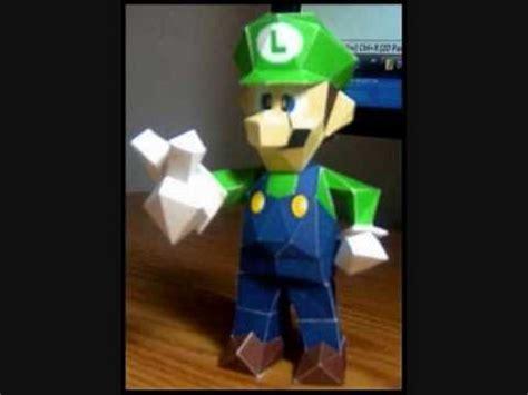 Papercraft Luigi - luigi papercraft