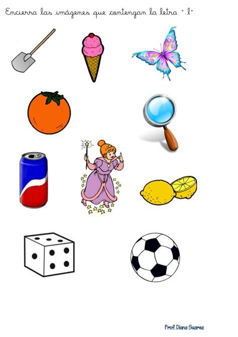 imagenes que empiecen con la letra l para colorear fichas letras d y l
