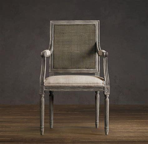 back chair restoration hardware vintage back square upholstered armchair