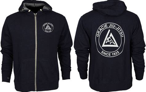 Jaket Ufc Trainer Sweater Hoodie Zipper gracie jiu jitsu summer zip hoodie