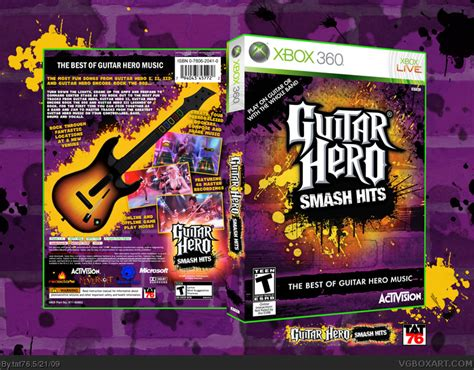 guitar hero smash hits wikipedia guitar hero smash hits xbox 360 box art cover by tat76