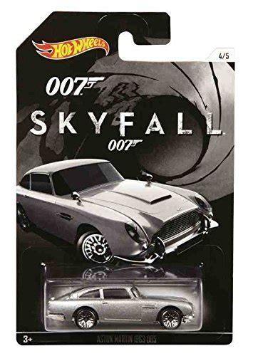 Diecast Hotwheels Aston Martin Db5 1963 Collector wheels bond 007 skyfall 1963 aston martin db5