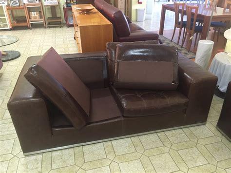 divani cuoio divano marzi in pelle cuoio sottocosto