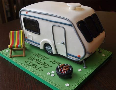wohnwagen kuchen caravan birthday cake i that cake co bedford