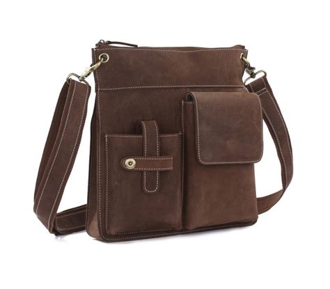 brown leather messenger bag messengers bag vintage brown leather messenger bag bagswish
