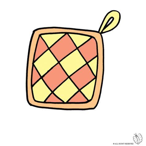 disegni per cucina disegno di presina per cucina a colori per bambini
