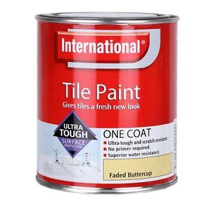 waterproof paint for bathrooms international waterproof bathroom tile paint faded