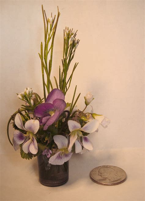Types Of Flower Arrangements miniature flower arrangements okay
