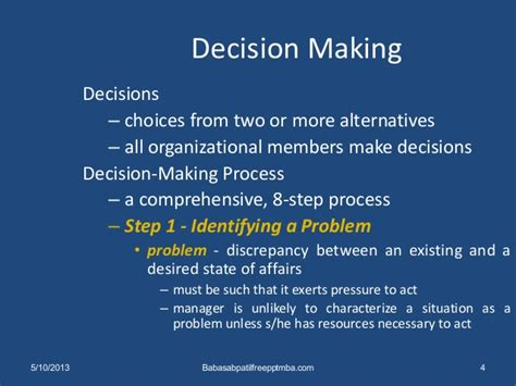 Alterntive Careers For Mba by Decision The Essence Of Managers Mba