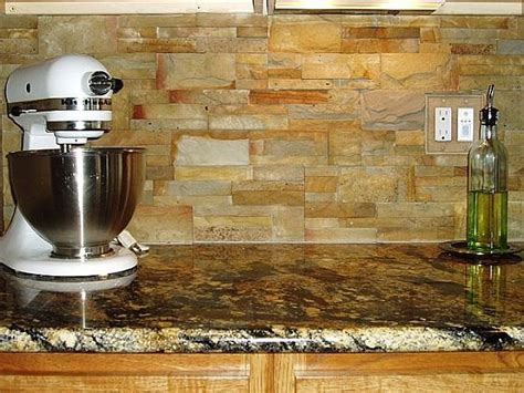stacked stone kitchen backsplash stacked stone as backsplash kitchens pinterest