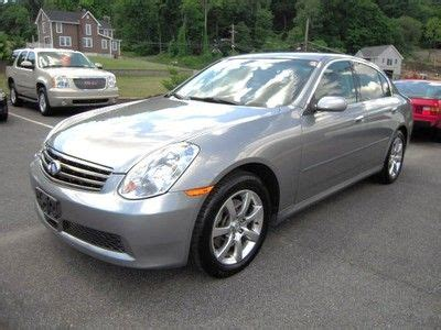 Infinity Auto 2006 by Purchase Used 2006 Infinity G35x Auto 3 5l V6 Awd Vdc