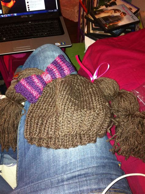 diply gabbage patch knit hat idea for cabbage patch hat knitting pinterest ideas