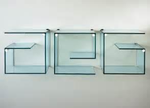 glass for shelving tonelli alfabeta pair of glass shelves glass furniture