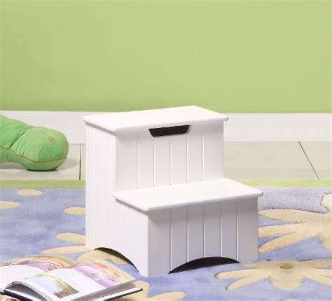 kings brand large wood bedroom step stool white finish kings brand white finish wood bedroom step stool with