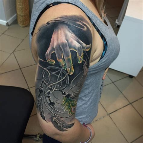 string tattoo dreamcatcher puppet best design ideas