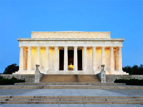 about the lincoln memorial lincoln memorial washington dc location hours map